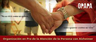 Organización en Pro de la Atención de la Persona con Alzheimer - OPAPA