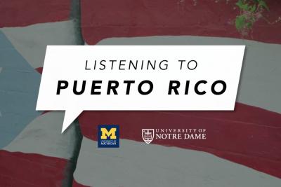 """""""Listening to Puerto Rico:"""" curso en línea para concientizar al mundo sobre la isla"""