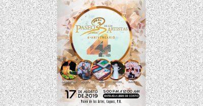 Paseo de los Artistas 4to Aniversario - Caguas